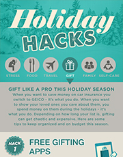 Holiday Hacks - gifts