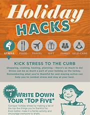 Holiday Hacks - stress